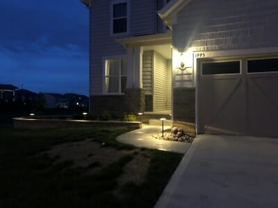 landscape lighting stow